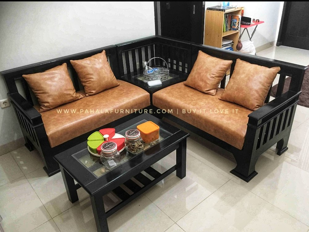 Jual Kursi Tamu Jati Minimalis L BEST SELLER Furniture