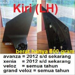 Berat Grand New Veloz Velg All Yaris Trd Jual Kaki Lengan Spion Avanza Xenia 2012 Bagian Kiri Hanya 600 Gram