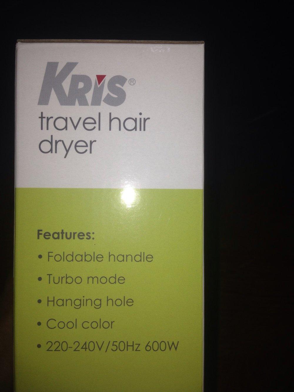 Jual Hair Dryer Merk Kris Dengan Turbo Mode Di Lapak