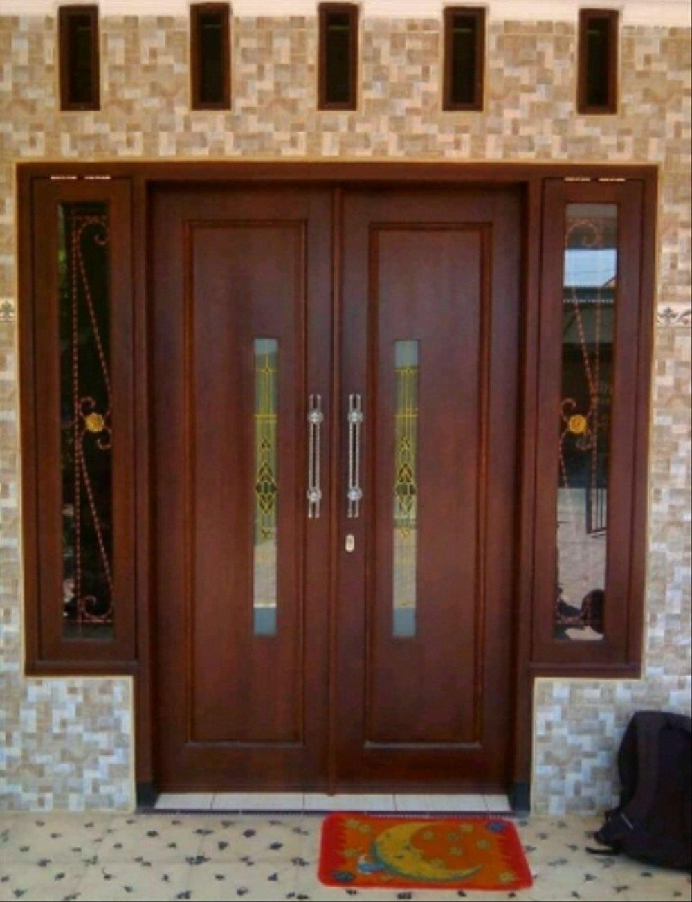 Jual pintu Kupu Kupu utama Dan jendela Kayu Kamper