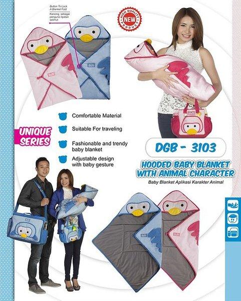 Dialogue Selimut / Blanket Bayi Karakter Penguin
