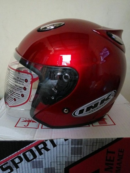 helm basic best ink Centro-merah maron
