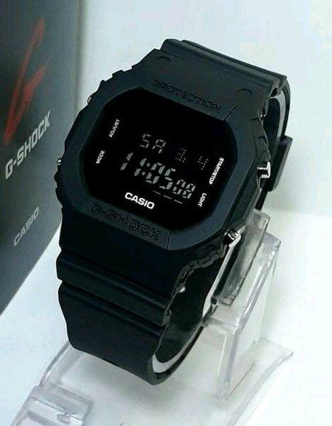 jam tangan pria/wanita sporty Casio G-SHOK ARNOLD GS 3106 full black kw harga promo oleh ramang olshop