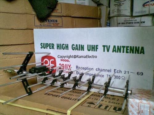 ANTENA TV LCD-LED Merk YAGI + PASANG