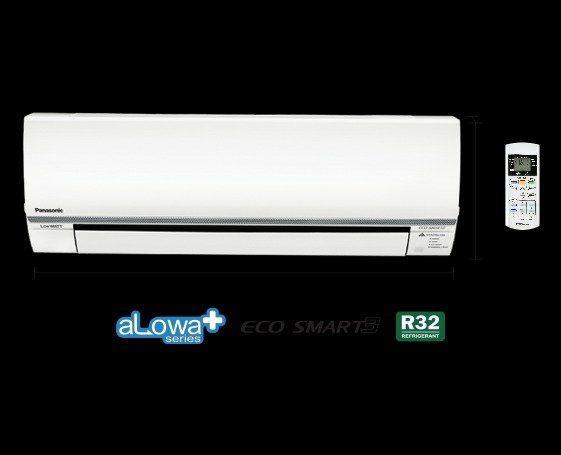 AC Panasonic 1 2 PK CS KN5RKJ LOw Watt Eco Smart Alowa Plus