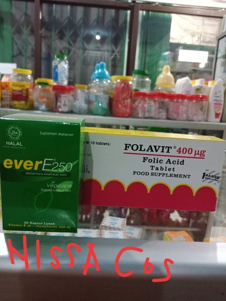 Promil dengan Folavit dan Ever E - Welcome to my blog
