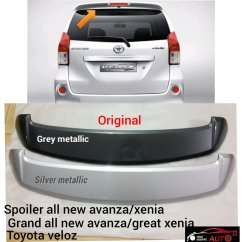 Jual Spoiler Grand New Avanza Kelebihan Veloz All Xenia Great