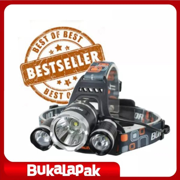 READY STOCK!!!!! Headlamp / Senter Kepala / Boruit Led Cree T6 5000 Lm