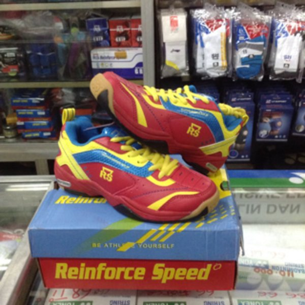 Sepatu Badminton Bulutangkis RS Super Series 612 Junior Anak Original