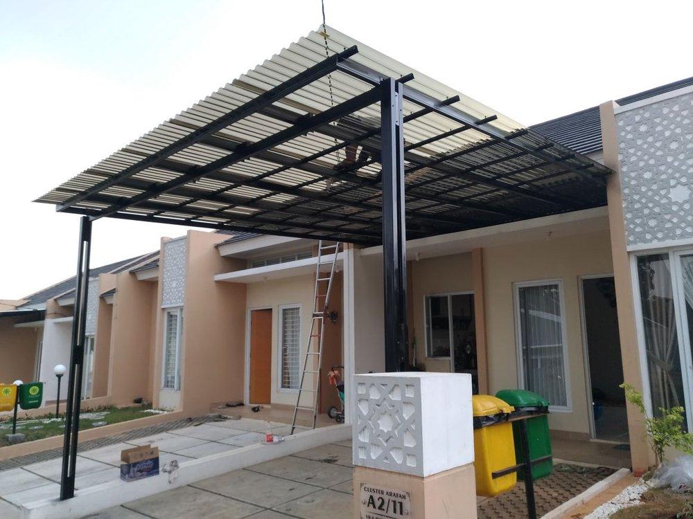 harga atap baja ringan untuk kanopi jual & solartuff - promo di lapak ...