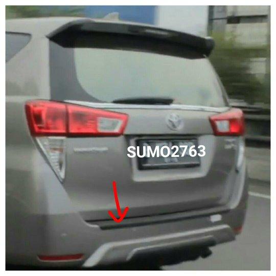 spesifikasi all new kijang innova reborn toyota yaris trd body kit jual sill plate belakang rear bumper step cover ...