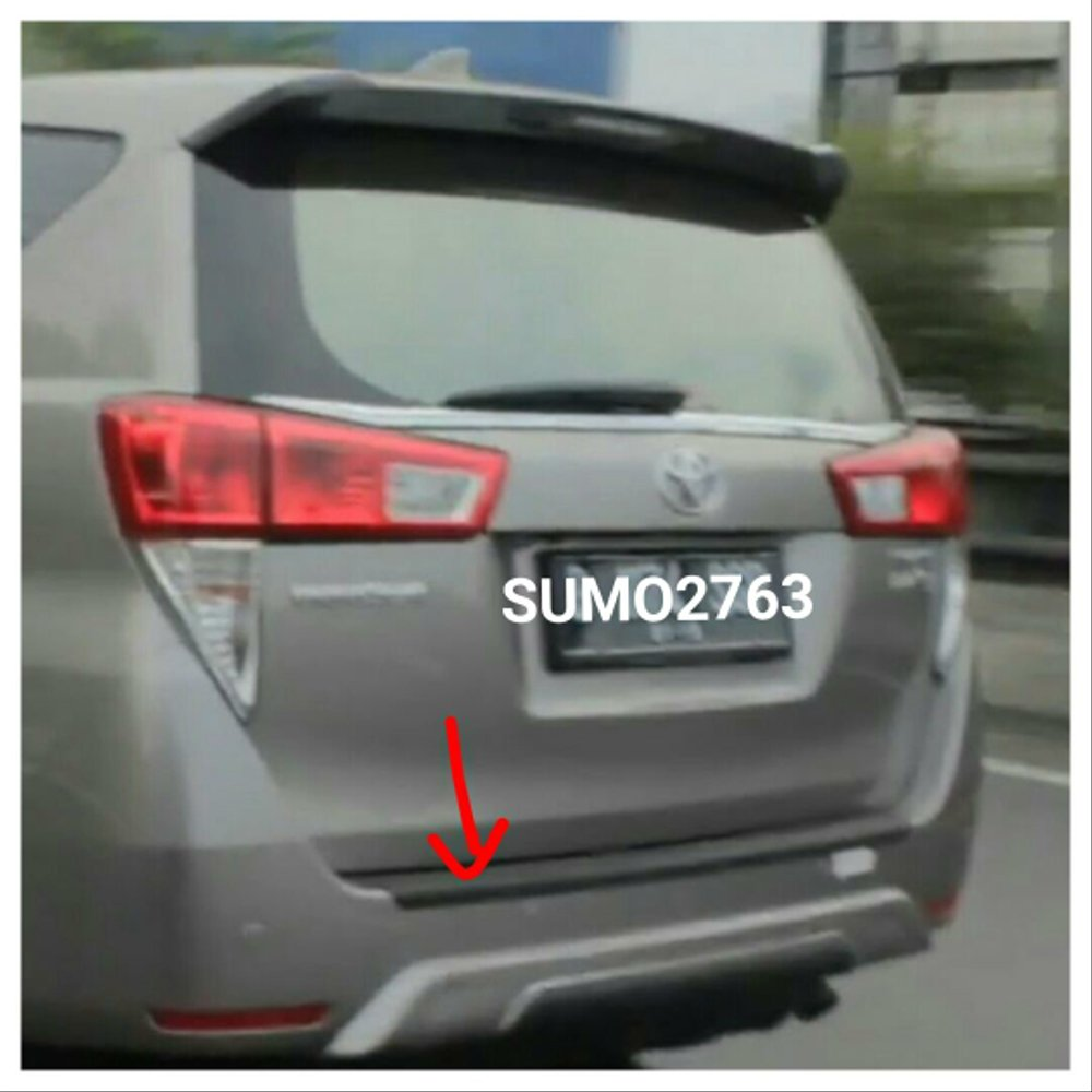 new kijang innova spesifikasi all alphard 2018 indonesia jual sill plate belakang/ rear bumper step cover ...