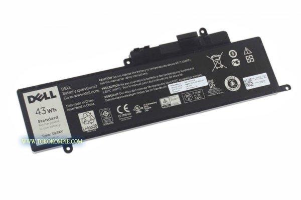 Original Baterai Laptop DELL Inspiron 11 3147, 11 3148, 11 3152, 11 3158, 13 7347, 13 7348, 13 7352, 13 7359, 15 7558, 15 7568 Series / 00WF28, 0GK5KY, 0WF28, 04K8YH, 092NCT, 4K8YH, 92NCT, GK5KY