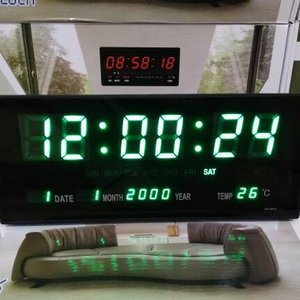 Jam Dinding Meja Led 3020 Digital Size Besar 295 Cm X 19 Cm Led ... dab7cdc2c0