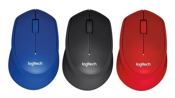 Mouse Wireless Logitech M331 Silent Plus Mouse No Clickling Sound