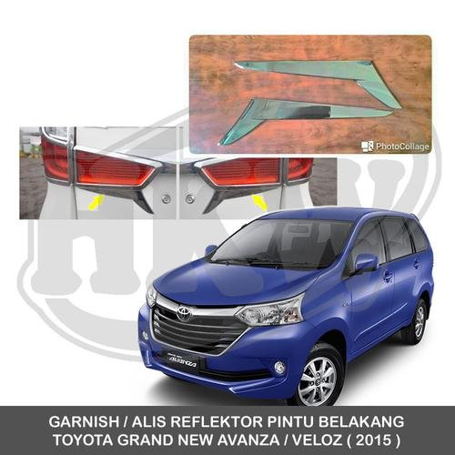 spare part grand new veloz all camry 2.5 v a/t jual promo garnish alis reflektor pintu belakang toyota ...