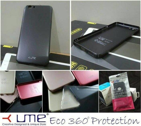 Oppo F1s ume eco 360 case casing full cover hard bumper armor keren