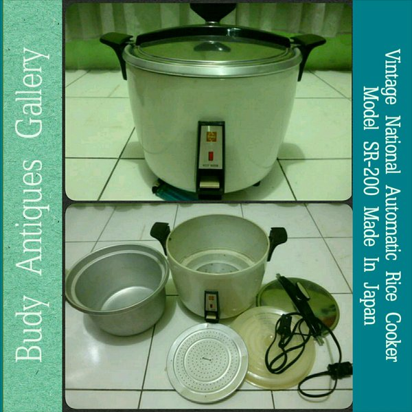 Vintage National Automatic SR - 200 Rice Cooker (NOS)