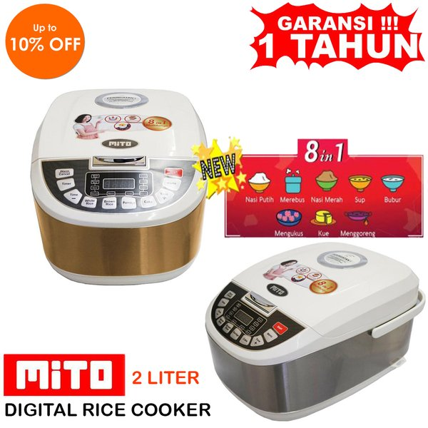 Rice Cooker Mito Digital  2L 8in1 R5