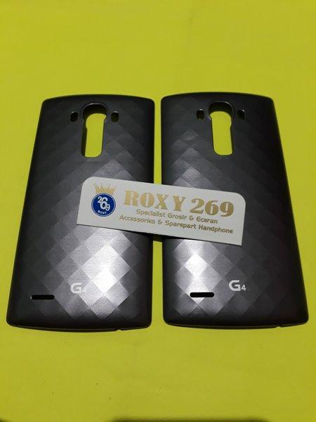 Tutup Casing LG G4 Dark Grey Abu Tua ORI Ceramic - Backdoor Back-door-case-cover-kesing Tutup Cesing Belakang HP Handphone LG G 4 ORIGINAL BLACK HITAM