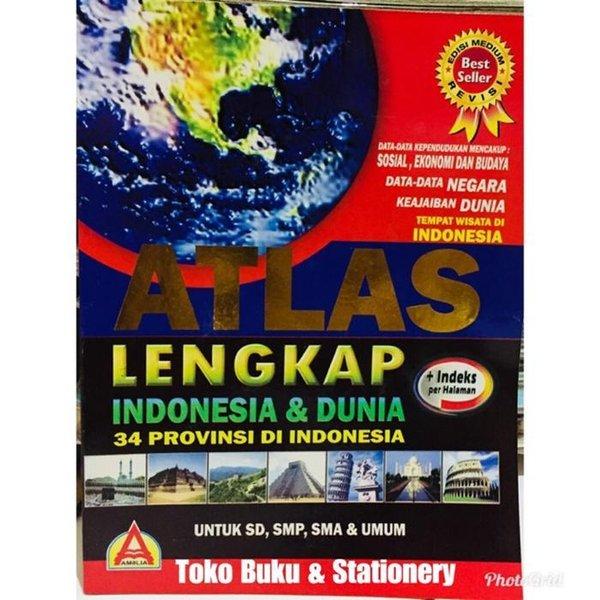 Jual Unik Buku Atlas Lengkap Indonesia Dan Dunia 34 Provinsi Di Indonesia Limited Di Lapak Yahirneal Bukalapak