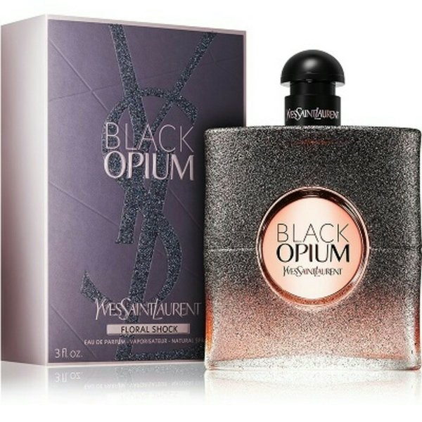Parfum Original YSL BLACK OPIUM FLORAL SHOCK for women  (100% ORIGINAL)