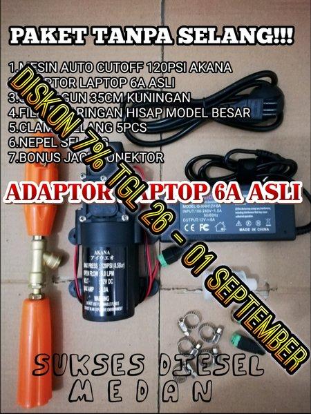 paket alat cuci mini portable untuk motor AC mobil atau taman hemat air dan listrik paket tanpa selang mini steam doorsmeer mini