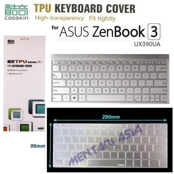 Termurah - Keyboard Protector for ASUS ZenBook 3 UX390UA COOSKIN Premium TPU