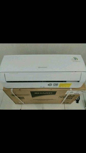Premium AC SHARP 1 2 PK AH A5UCY R 32 FREE PASANG DAN ACESORIS