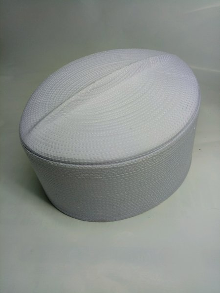 songkok haji putih polos