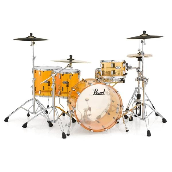 Drum Pearl CRYSTAL BEAT CRB526FP-C ACRYLIC Drum Set