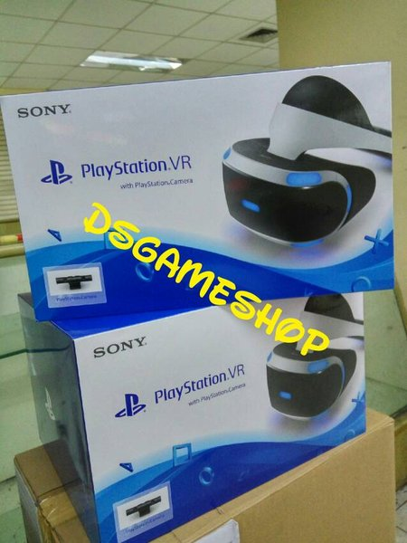 PLAYSTATION VR BUNDLE / PAKET CAMERA / KAMERA PS4