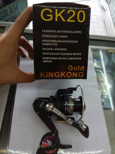 exxclusive rellreel pancing golden fish kingkong gk20