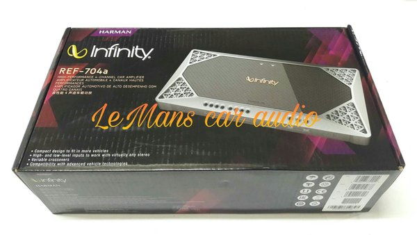 POWER INFINITY REFERENCE 704 A BY HARMAN KARDON POWER MOBIL 4CH POWER AMPLIFIER MOBIL INFINITY 4CH POWER AMPLIFIER AUDIO MOBIL BY LEMANS CAR AUDIO