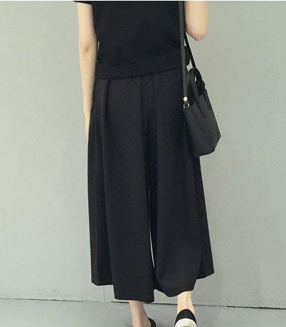 jogger celana panjang wanita import kulot pants trousers jeans bahan lucu vintage