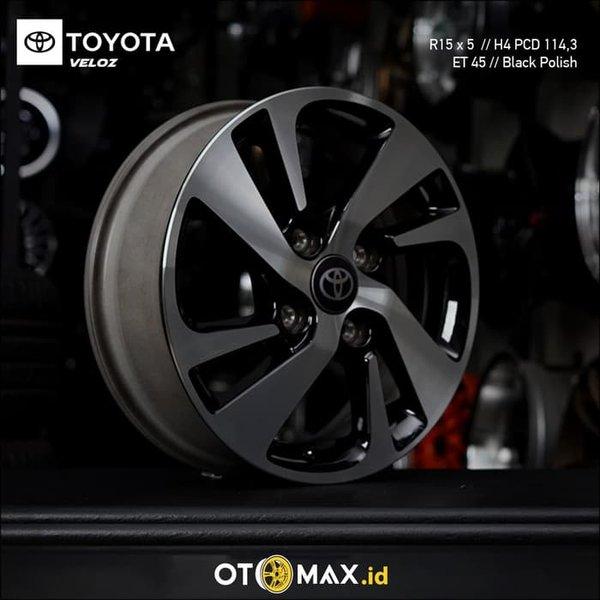 pelek grand new veloz avanza 1.5 g m/t 2018 jual velg cek harga di pricearea com greats mobil 15 ring original oem black polish bukalapak