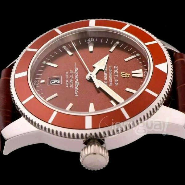 Jam Tangan Replika Breitling Superocean Red Best Edition Miror Copy 1.1