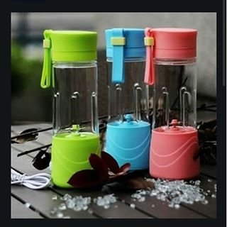Juice Cup / Blender Portable Bisa Buat Charger Hp / Blender Charger
