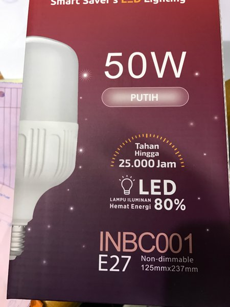 LAMPU LED BULB INDUSTRI 50W 50W