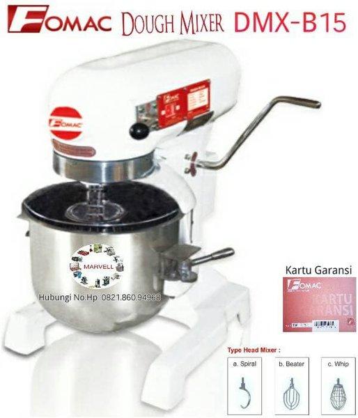 Mixer Mesin Mixer Roti & kue Fomac Dough Mixer DMX-B15- pengaduk adonan