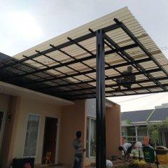 Biaya Membuat Garasi Mobil Dengan Baja Ringan Jual Kanopi Atap Solartuff Promo Di Lapak Canopi