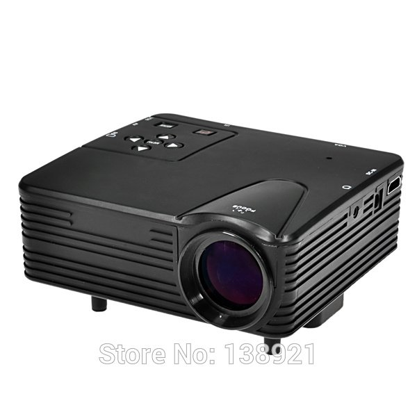 Projector Mini Portable Proyektor Home theater Projektor TV Tuner Tinggal Colok antena bisa nonton televisi SD HDMI USB VGA AV