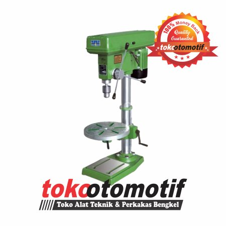 Mesin Bor Duduk / Bench Drill 16mm ( Top Quality ) Bor Kayu / Bor Besi / Perkakas Pertukangan / Power Tools