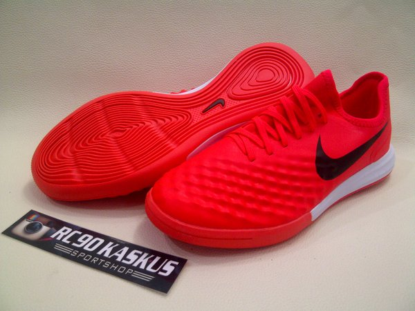 Sepatu Futsal Nike Magista X Finalle II Red Crimson IC