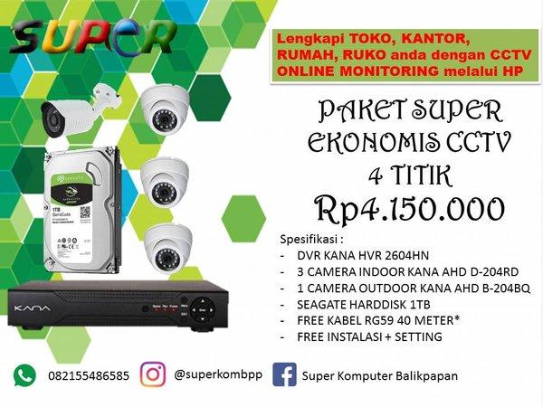 Paket Camera CCTV KANA