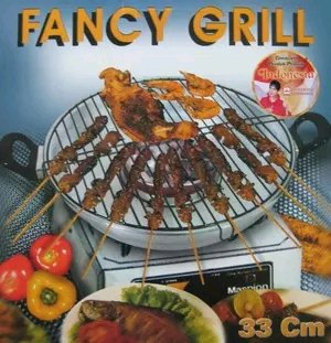 Fancy Grill Panggangan Serbaguna Stainless 33cm Maspion