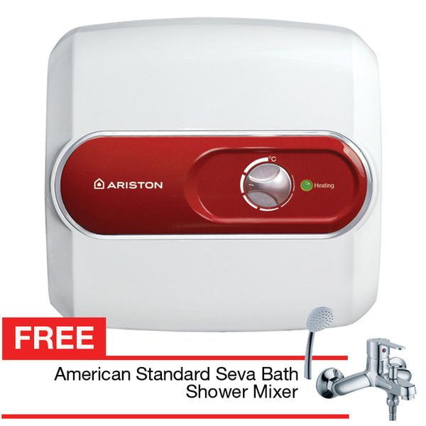 HOT LIST Pemanas air Ariston  Water heater nano 10 ltr hanya 200 watt free gift