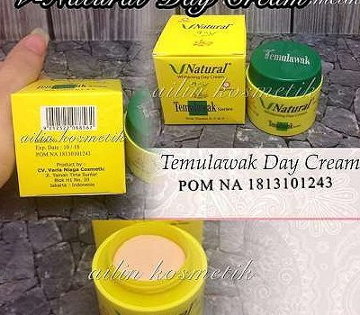 Day Siang Cream Krim Temulawak V Natural Vnatural