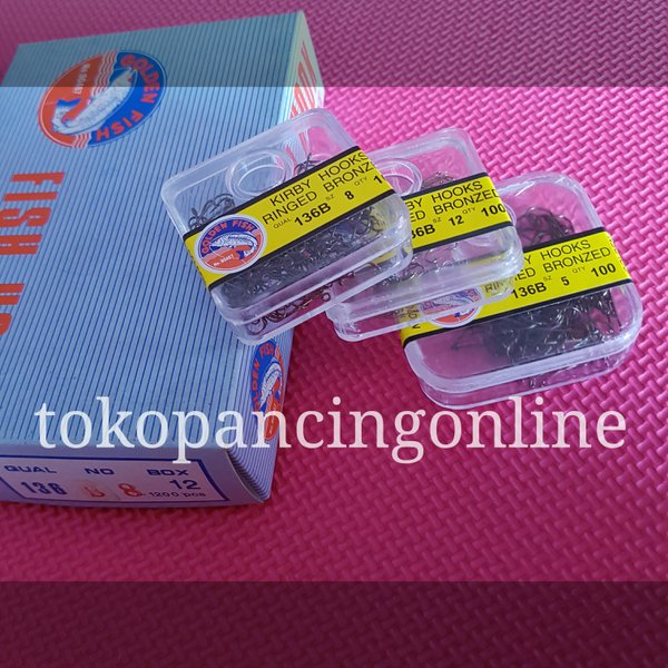 Pancing Kail Golden Fish 136N dan 136B