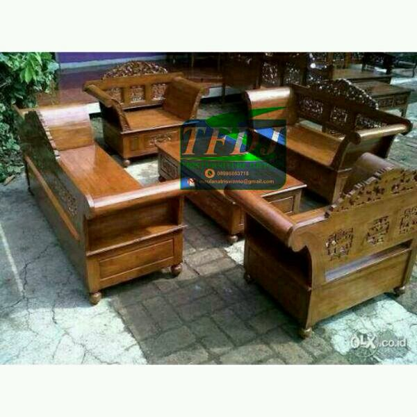 Kursi tamu madura jati furniture
